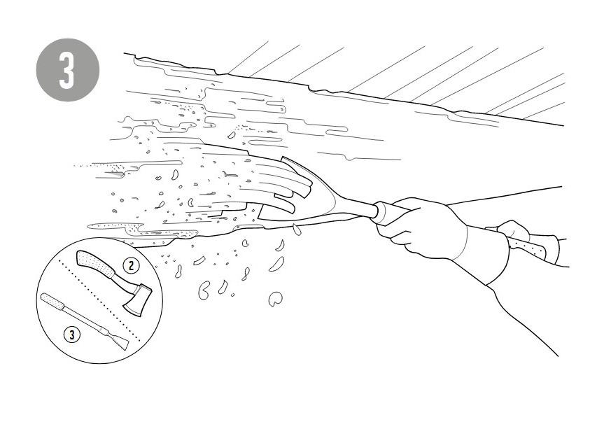Уничтожение короеда гелем